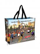 Reusable Bag Non Woven PP with Lamination Full Color Nylon Handles